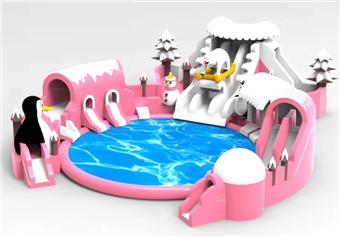 汉光展览-粉色滑梯